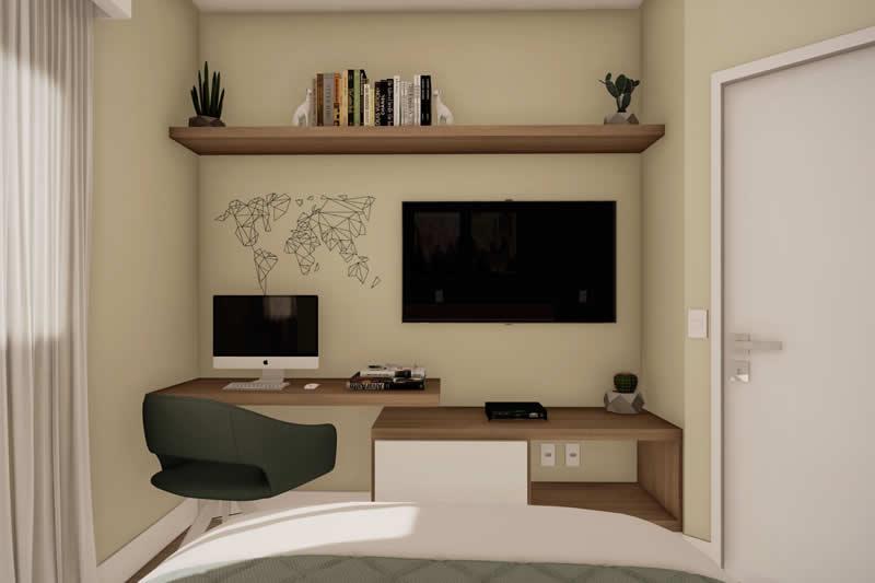 Planta de casa prática e funcional