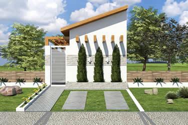 Planta minha casa minha vida com 2 quartos