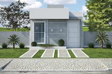 Planta minha casa minha vida pequena