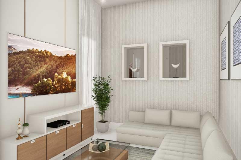 Planta de casa para vender ou alugar