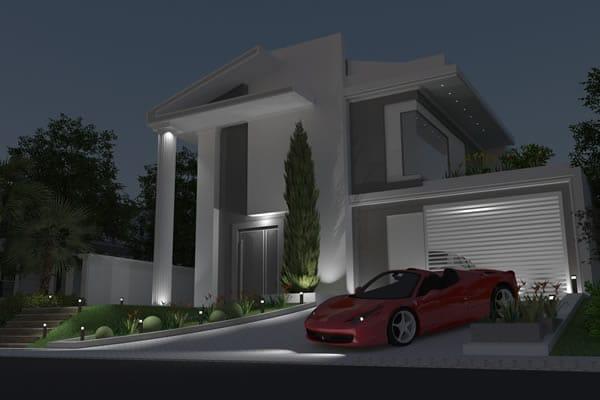 Casa grande neoclássica