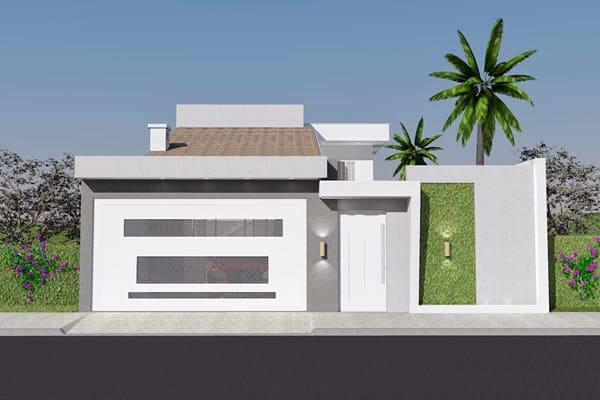 Casa para construir na rua