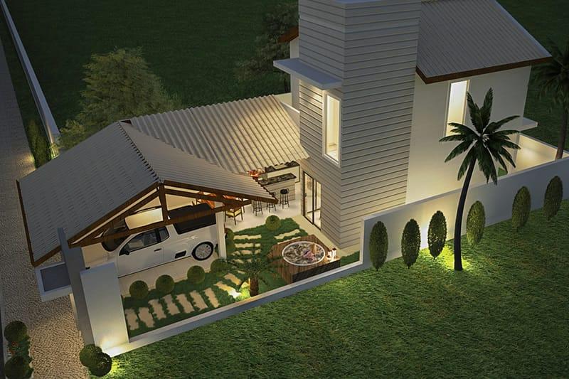 Planta de casa barata