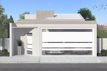 Projeto residencial com 3 quartos